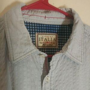 Vintage Italia Button Up Shirt
